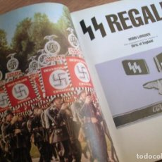 Militaria: SS REGALIA. MILITARIA DE LAS SS. GRAN FORMATO. PROFUSAMENTE ILUSTRADO. IMPRESCINDIBLE. TERCER REICH.. Lote 94813743