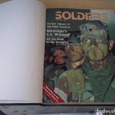 Militaria: ESPECTACULAR TOMO SOLDIERS 7REVISTAS MAS 1 ALL HANDS ENCUADERNADAS AÑOS 88 Y 89 MIRAR TITULOS. Lote 95009699