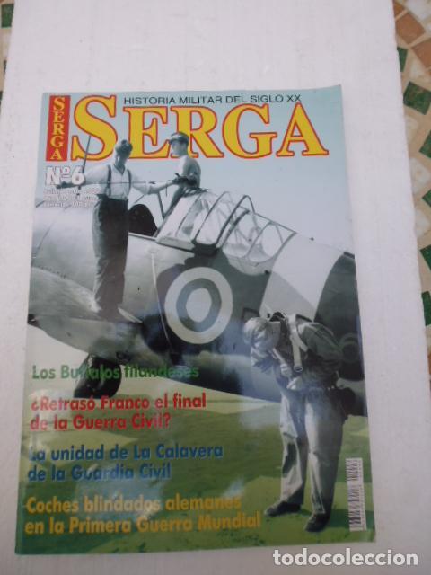 SERGA Nº6- REVISTA MILITAR DEL SIGLO XX - (Militar - Libros y Literatura Militar)