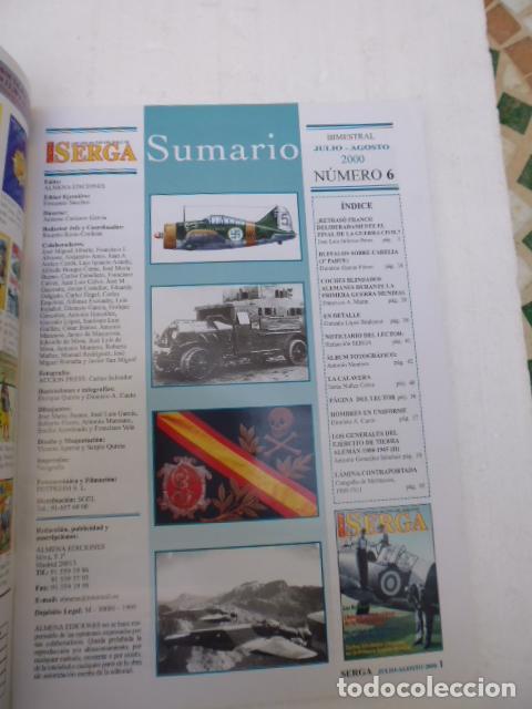 Militaria: SERGA Nº6- REVISTA MILITAR DEL SIGLO XX - - Foto 2 - 95051867