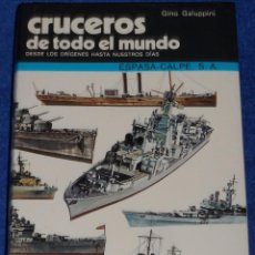 Militaria: CRUCEROS DE TODO EL MUNDO - GINO GALUPPINI - ESPASA CALPE (1984). Lote 95321819