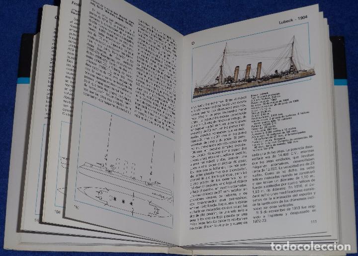 Militaria: Cruceros de todo el mundo - Gino Galuppini - Espasa Calpe (1984) - Foto 3 - 95321819