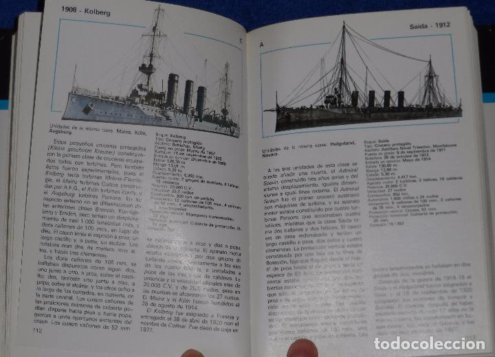 Militaria: Cruceros de todo el mundo - Gino Galuppini - Espasa Calpe (1984) - Foto 4 - 95321819