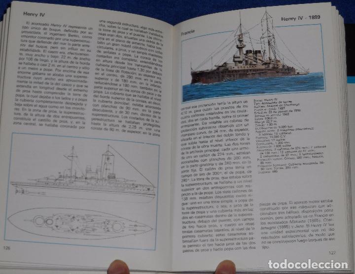 Militaria: Acorazados de todo el mundo - Gino Galuppini - Espasa Calpe (1984) - Foto 4 - 95321823