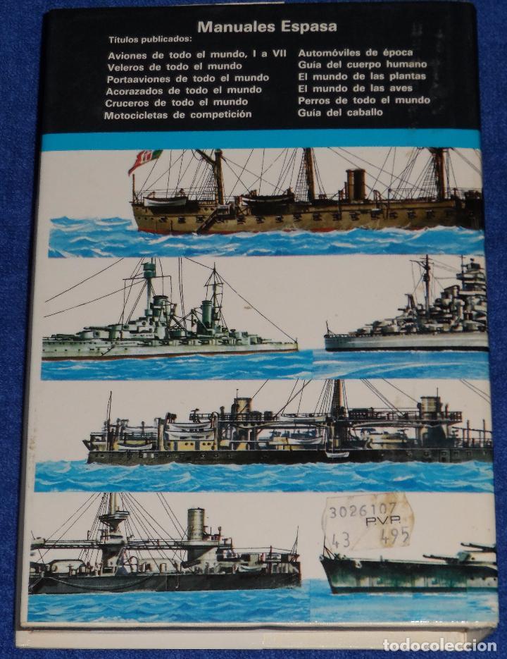 Militaria: Acorazados de todo el mundo - Gino Galuppini - Espasa Calpe (1984) - Foto 5 - 95321823