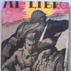 Militaria: MI LIBRO. C. 1940. Lote 95620783