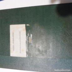 Militaria: ESCUELA DE APLICACIÓN Y TIRO DE INFANTERIA LIBRO FORMACION SARGENTOS AÑOS 40 MANUSCRITO . Lote 95947543