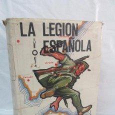Militaria: LA LEGION ESPAÑOLA. 50 AÑOS DE HISTORIA. EDITADO SUBINSPECION DE LA LEGION 1973. VER FOTOS. Lote 96040659