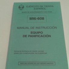 Militaria: 459 - MANUAL DE INSTRUCCIÓN EQUIPO DE PANIFICACIÓN EJERCITO DE TIERRA ESPAÑOL 2004. Lote 96274387