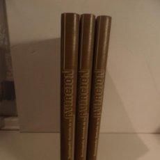 Militaria: ENCICLOPEDIA ILUSTRADA DE LA AVIACIÓN (VOLUMEN 1, 2 Y 3.), EDITORIAL DELTA , 1982. Lote 96553855