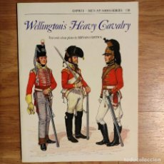 Militaria: NAPOLEONICO - OSPREY - WELLINGTON'S HEAVY CAVALRY - MEN AT ARMS. Lote 97409139