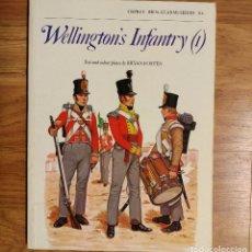 Militaria: NAPOLEONICO - OSPREY - WELLINGTON'S INFANTRY (1) - MEN AT ARMS. Lote 97415263