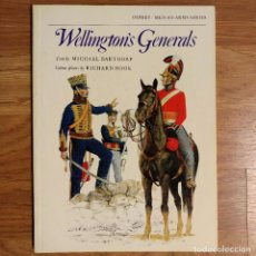 Militaria: NAPOLEONICO - OSPREY - WELLINGTON'S GENERALS - MEN AT ARMS. Lote 97415331