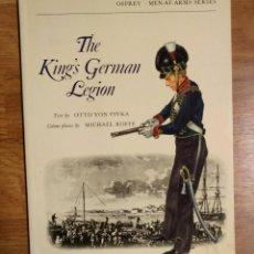 Militaria: NAPOLEONICO - OSPREY - THE KING'S GERMAN LEGION - MEN AT ARMS. Lote 97416203