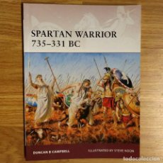 Militaria: ANTIGUEDAD - OSPREY - SPARTAN WARRIOR 735-331 BC - WARRIOR. Lote 97528851