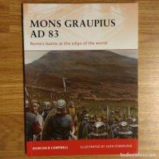 Militaria: ANTIGUEDAD - OSPREY - MONS GRAUPIUS AD 83 - CAMPAIGN. Lote 97530451