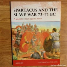 Militaria: ANTIGUEDAD - OSPREY - SPARTACUS AND THE SLAVE WAR - CAMPAIGN. Lote 97537071