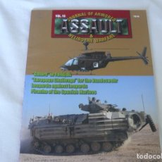 Militaria: VOL.16 JOURNAL OF ARMOURED ASSAULT & HELIBORNE WARFARE EDITORIAL CONCORD. Lote 97702787