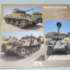 Militaria: WARMACHINES Nº4 ISRAELI M4 SHERMAN AND DERIVATIVES EDITORIAL VERLINDEN PUBLICATIONS. Lote 97706507