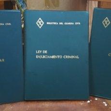 Militaria: BIBLIOTECA DEL GUARDIA CIVIL. . Lote 97763232
