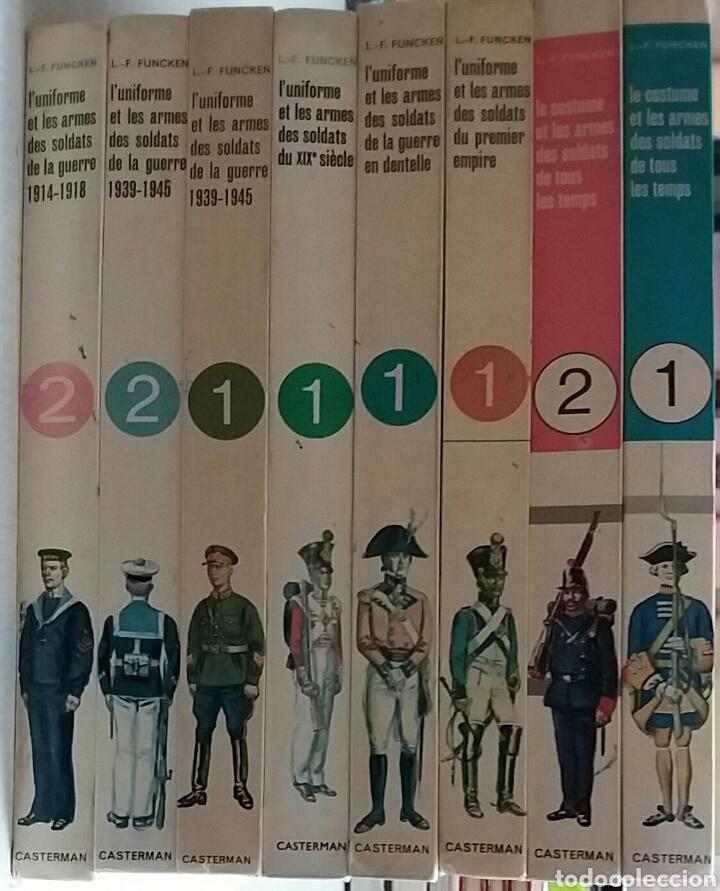 Militaria: COLECCION DE LIBROS LUNIFORME ET LES ARMES DES SOLDATS DE LA GUERRE, CASTERMAN - Foto 19 - 97768359