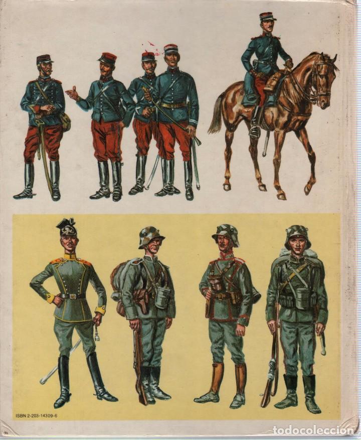 Militaria: COLECCION DE LIBROS LUNIFORME ET LES ARMES DES SOLDATS DE LA GUERRE, CASTERMAN - Foto 2 - 97768359