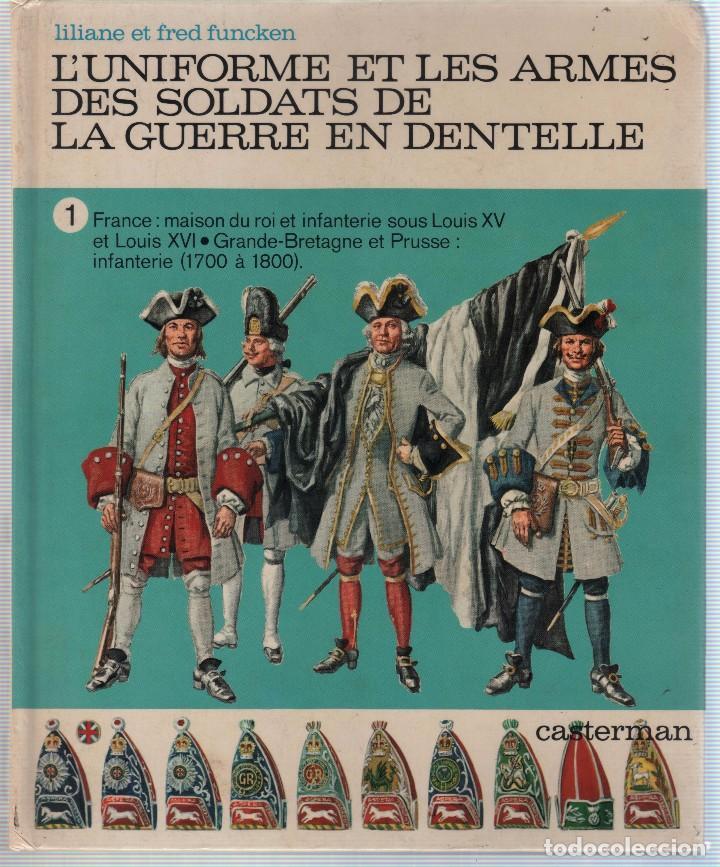 Militaria: COLECCION DE LIBROS LUNIFORME ET LES ARMES DES SOLDATS DE LA GUERRE, CASTERMAN - Foto 9 - 97768359