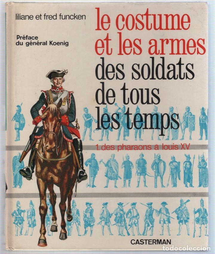 Militaria: COLECCION DE LIBROS LUNIFORME ET LES ARMES DES SOLDATS DE LA GUERRE, CASTERMAN - Foto 15 - 97768359