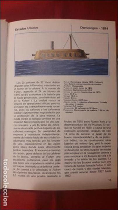 Militaria: Acorazados de todo el mundo Gino Galuppini Espasa Calpe (1984) - Foto 2 - 97802067