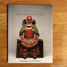 Militaria: SAMURAI - ARMS & ARMOUR OF THE SAMURAI - IAN BOTTOMLEY, ANTHONY HOPSON - SAMURAIS JAPON CATANA. Lote 97809039