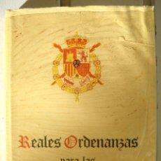 Militaria: REALES ORDENANZAS MILITARES PARA LAS FUERZAS ARMADAS . 1979. Lote 97872067