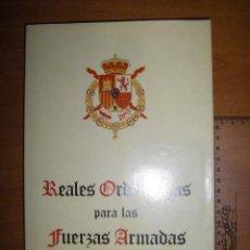 Militaria: REALES ORDENANZAS PARA LAS FUERZAS ARMADAS. Lote 97873063