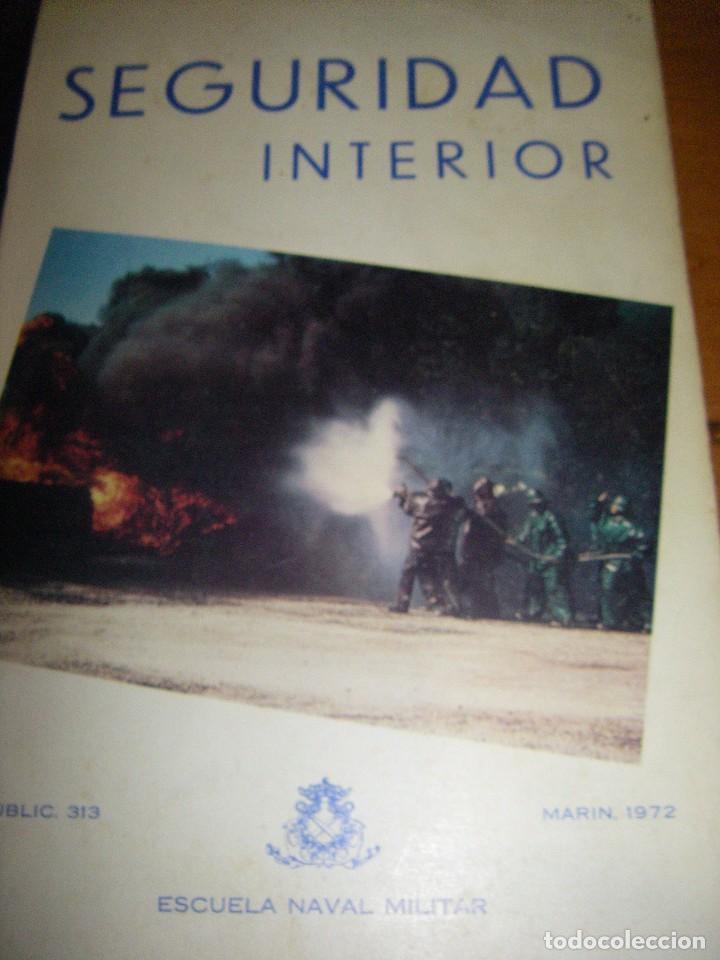 Militaria: Seguridad Interior. Escuela Naval Militar. Marin 1973 - Foto 2 - 97873875