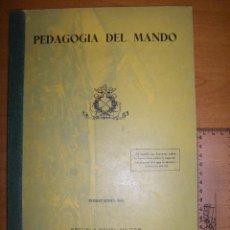 Militaria: PEDAGOGÍA DEL MANDO. ESCUELA NAVAL MILITAR. MARIN 1973. Lote 97874111