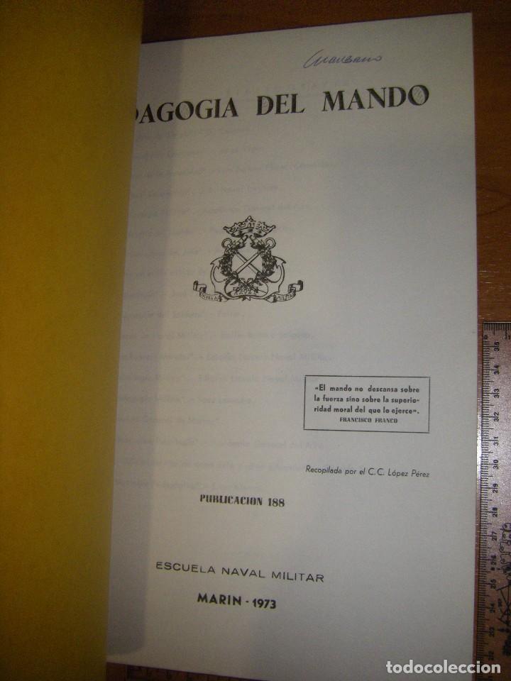 Militaria: Pedagogía del mando. Escuela Naval Militar. Marin 1973 - Foto 6 - 97874111