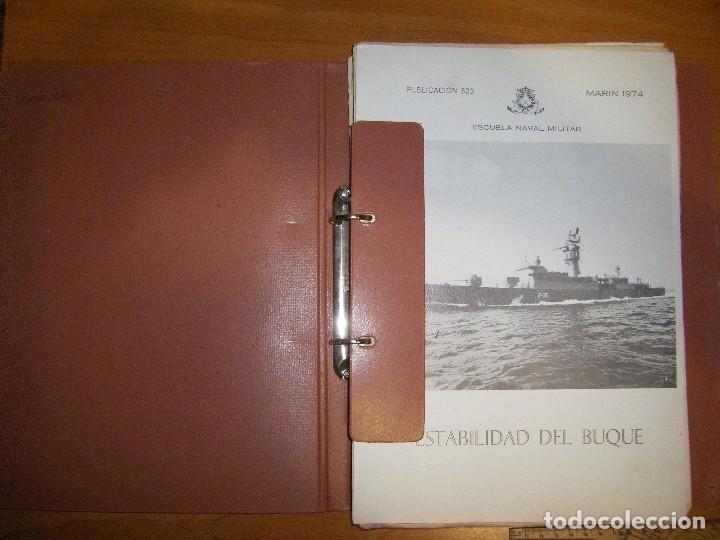 ESTABILIDAD DEL BUQUE. ESCUELA NAVAL MILITAR. MARIN 1974 (Militar - Libros y Literatura Militar)