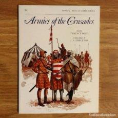 Militaria: CRUZADAS - OSPREY - ARMIES OF THE CRUSADES - MEN AT ARMS. Lote 97944039