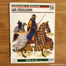 Militaria: CRUZADAS - OSPREY - LOS CRUZADOS - EJERCITOS Y BATALLAS. Lote 97944551