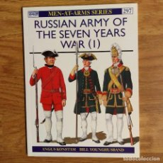Militaria: OSPREY - RUSSIAN ARMY OF THE SEVEN YEARS WAR (1) - MEN AT ARMS. Lote 98155707