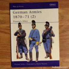 Militaria: OSPREY - GERMAN ARMIES 1870-71 (2) PRUSSIA ALLIE'S - MEN AT ARMS. Lote 98158919