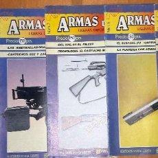 Militaria: ARMAS DE FUEGO. LIGERAS, DEPORTIVAS Y MILITARES. LOTE 6 NUMEROS . Lote 98203203