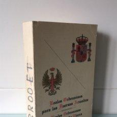 Militaria: REALES ORDENANZAS PARA LAS FUERZAS ARMADAS - 1984. Lote 98349102