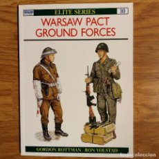 Militaria: GUERRA FRIA - OSPREY - WARSAW PACT GROUND FORCES - ELITE SERIES. Lote 98585375