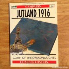 Militaria: WW1 - OSPREY - JUTLAND 1916 - CAMPAIGN. Lote 98597423