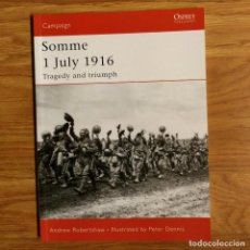 Militaria: WW1 - OSPREY - SOMME 1 JULY 1916 - CAMPAIGN. Lote 98597519