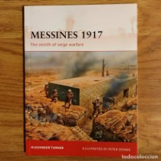 Militaria: WW1 - OSPREY - MESSINES 1917 - CAMPAIGN. Lote 98602379