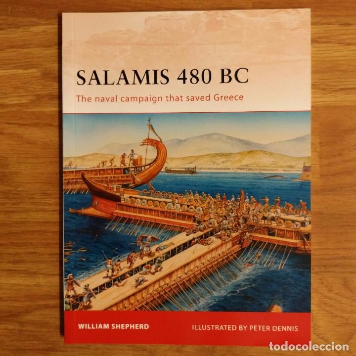 ANTIGUEDAD - OSPREY - SALAMIS 480 BC - CAMPAIGN (Militar - Libros y Literatura Militar)