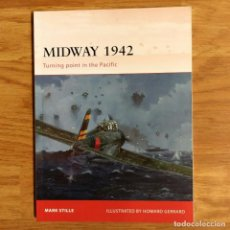 Militaria: WW2 - OSPREY - MIDWAY 1942 - CAMPAIGN. Lote 98982215