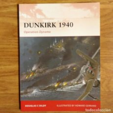 Militaria: WW2 - OSPREY - DUNKIRK 1940 - CAMPAIGN. Lote 98988615