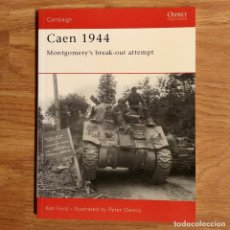 Militaria: WW2 - OSPREY - CAEN 1944 - CAMPAIGN. Lote 98989387